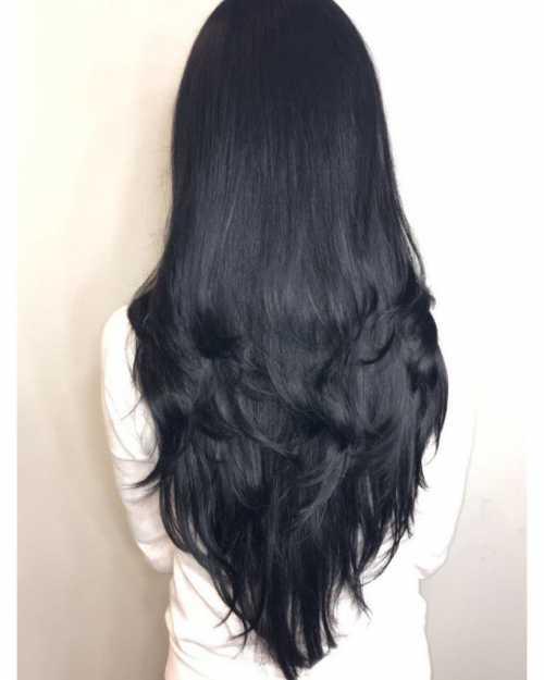 стрижка на средние волосы без челки: кому идет
