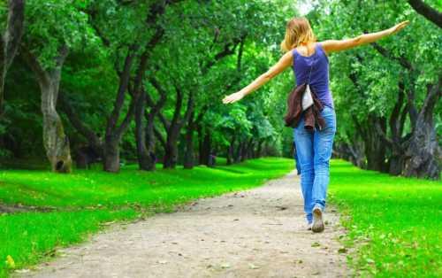 пешие прогулки и их несомненная польза для здоровья